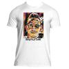 Mens Rockstar Graphic Performance fitted T-Shirt.
