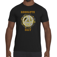Mens Resolute Bay Premium Graphic Performance fitted T-shirt.