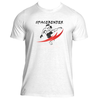 Men's Spacebender Premium Graphic Performance Fitted T-shirt.