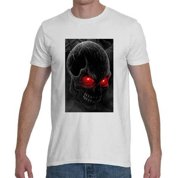 Mens Hellta Skellta softstyle t-shirt.