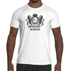 Mens Crowning Kings Graphic Performance fitted T-shirt.