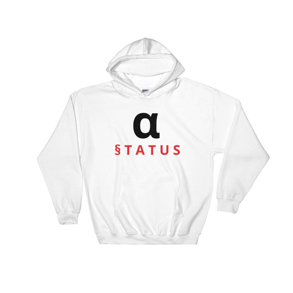 Mens Alpha Status Hooded Sweatshirt.