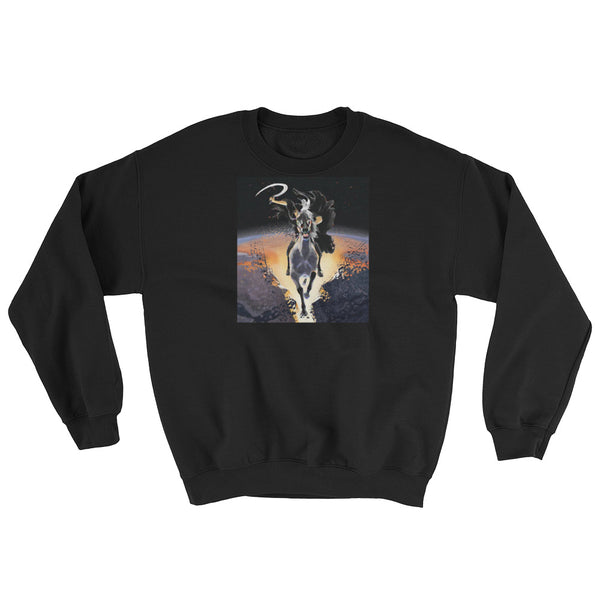 Mens Apocalyptic Prophet Graphic Sweatshirt