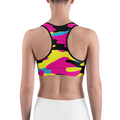 Ladies Tri-Color CAMOfly™ Sports bra.