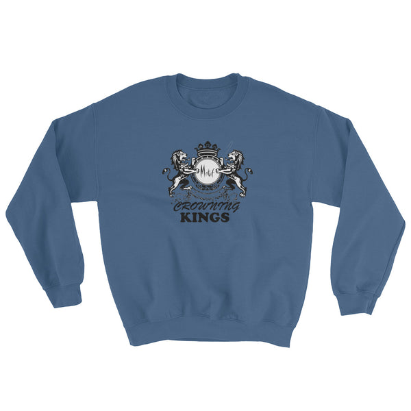 Mens Crowning Kings Graphic Sweatshirt.