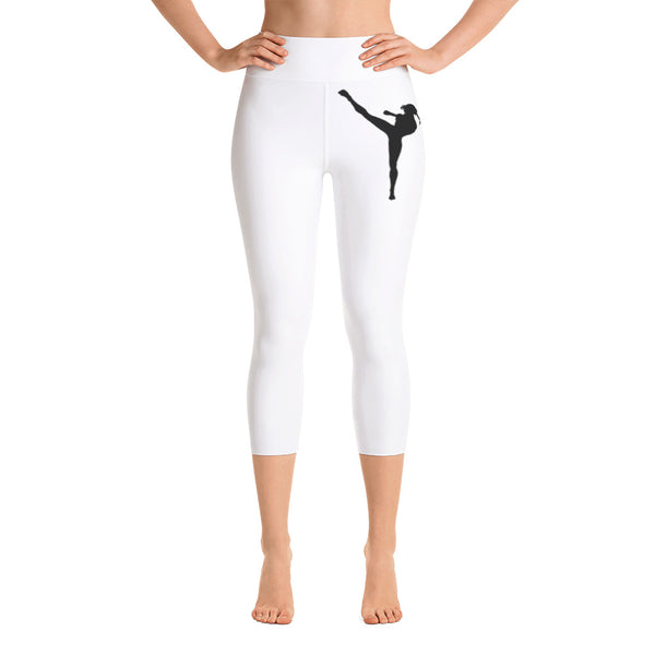 Women's Khloe Hanna™ Yoga Capri Leggings.