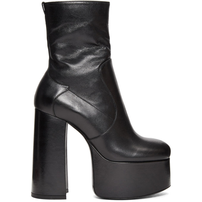 Black Billy Platform Boots