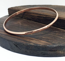 Load image into Gallery viewer, Fine Copper Bangle