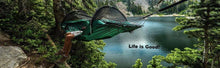 "Lawson Hammock Blue Ridge Camping Dual Hammock and Tent, Forest Green-Winner of ""Gear of the Yr Award""- Holds 275 lbs - Refresh The Camping Spirit"