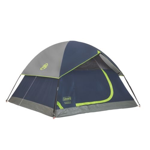 Sundome 4 Person Tent (Green and Navy color options) - Refresh The Camping Spirit