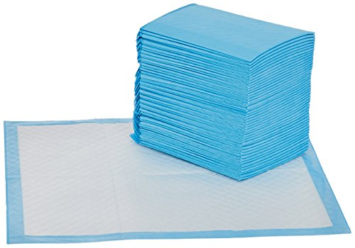 AmazonBasics Heavy Duty Pet and Puppy Training Pads, Regular -50-Count - Refresh The Camping Spirit