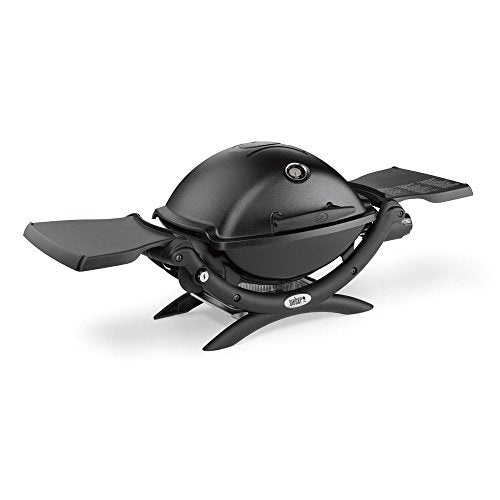 Weber 51010001 Q1200 Liquid Propane Grill, Black - Refresh The Camping Spirit