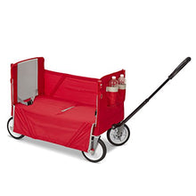 Radio Flyer 3-In-1 EZ Fold Wagon with Canopy for kids and cargo - Refresh The Camping Spirit