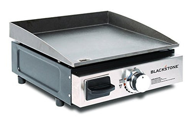 Blackstone Portable Table Top Camp Griddle, Gas Grill for Outdoors, Camping, Tailgating - Refresh The Camping Spirit