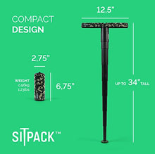 Sitpack 2.0 – The World's Most Compact Foldable Seat – Portable and Adjustable Sit/Stand Stool for Travel and Outdoor Activities - Refresh The Camping Spirit