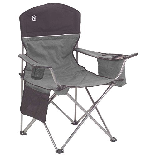 Coleman Oversized Quad Camping Chair Folding with Cooler-Top Seller - Refresh The Camping Spirit