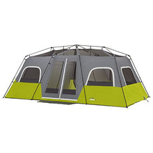 "CORE 12 Person Instant Family Cabin Tent - 18' x 10'- High Ratings-  Center Height is 80"" - Refresh The Camping Spirit"