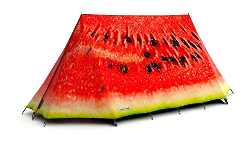 Unusual FieldCandy- What a Melon Watermelon 2-3 Person Lightweight Camping Tent- 4 season-Waterproof - Refresh The Camping Spirit