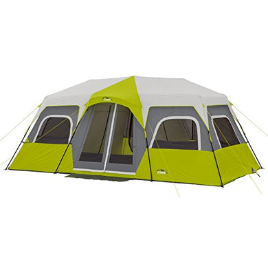 CORE 12 Person Instant Family Cabin Tent - 18' x 10'- High Ratings-  Center Height is 80