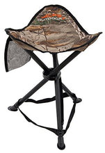 ALPS OutdoorZ Tri-Leg Stool, Realtree Xtra- Camping, Hunting, Fishing Chair-Holds 250 lbs