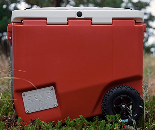 The Best Ultimate Camping RovR 80 Quart Wheeled Cooler-Roller Wagon- 10 Days Ice Retention - Refresh The Camping Spirit