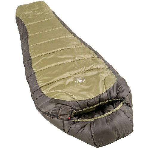 Coleman North Rim Adult Mummy Sleeping Bag- Sleep up to 0 Degrees - Refresh The Camping Spirit