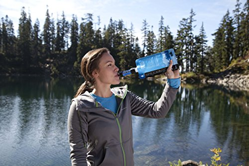 Sawyer Products SP128 Mini Water Filtration System, Single, Blue - Refresh The Camping Spirit
