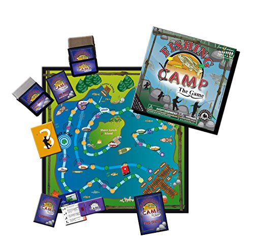 Fishing Camping Board Game-Kids and Adults Educational Fun Facts - Refresh The Camping Spirit
