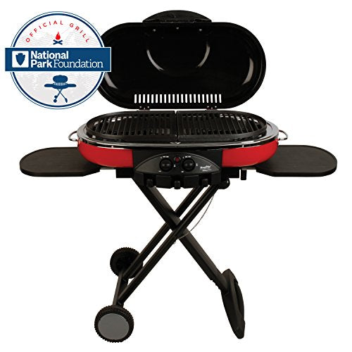 Coleman Road Trip Propane Portable Grill LXE-Double Cast Iron Grills - Refresh The Camping Spirit
