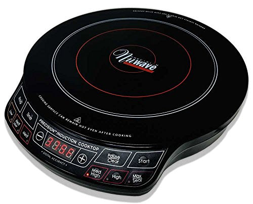 NuWave Precision Induction Cooktop 1300 Watts-Handy for Campsites with Electricity - Refresh The Camping Spirit