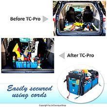 Trunkcratepro Collapsible Portable Multi Compartments Heavy Duty Non-Slip Cargo Trunk Organizer Storage, Blue - Refresh The Camping Spirit