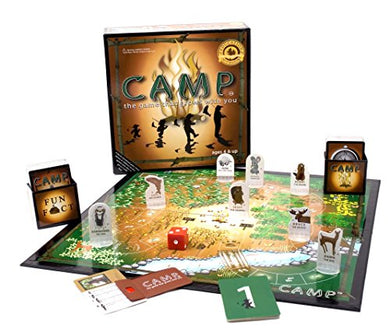 Camp Board Family Outdoors Game - Refresh The Camping Spirit