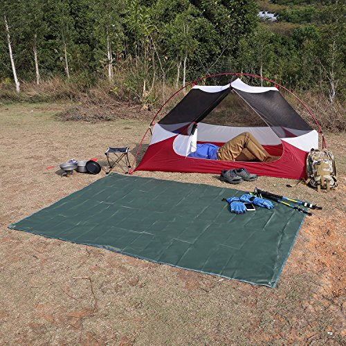 OUTAD Waterproof Camping Tarp for Picnics, Tent Footprint, and Sunshade - Refresh The Camping Spirit