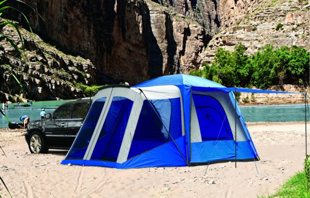 $50 Off SALE- NAPIER SPORTZ SUV Tent with Screen Room 10'x10'- 5-6 Person Capacity 2 Skylights 84000 Model - Refresh The Camping Spirit