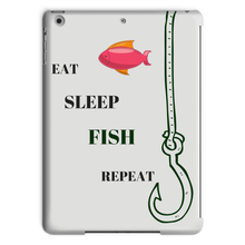 New Custom Fishing Themed Tablet Case-Fits all Major Brand Ipads - Refresh The Camping Spirit