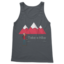 Great looking Hiking and Camping Softstyle Gildan Tank Top-4 Colors - Refresh The Camping Spirit