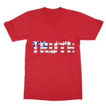 """TRUTH"" Theme Tee in Softstyle Ringspun T-Shirt for Camping-Patriotic Outdoors - Refresh The Camping Spirit"