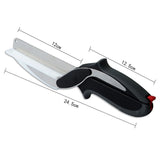 2 IN 1 KNIFE & CUTTING BOARD - Clever Chopper