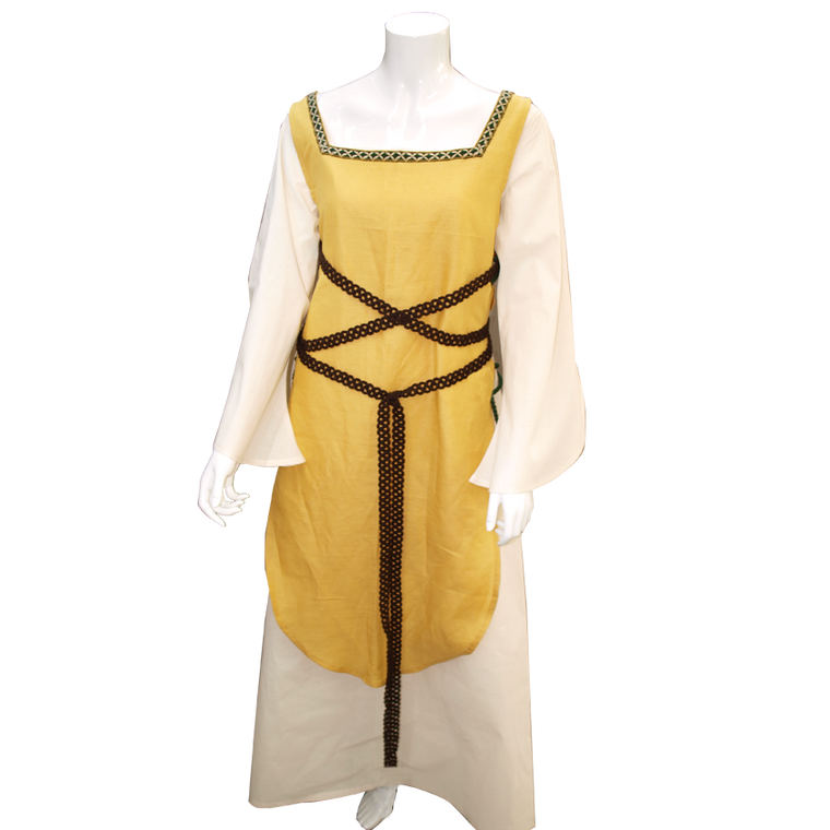 medieval yellow costume