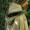medieval hooded cloak