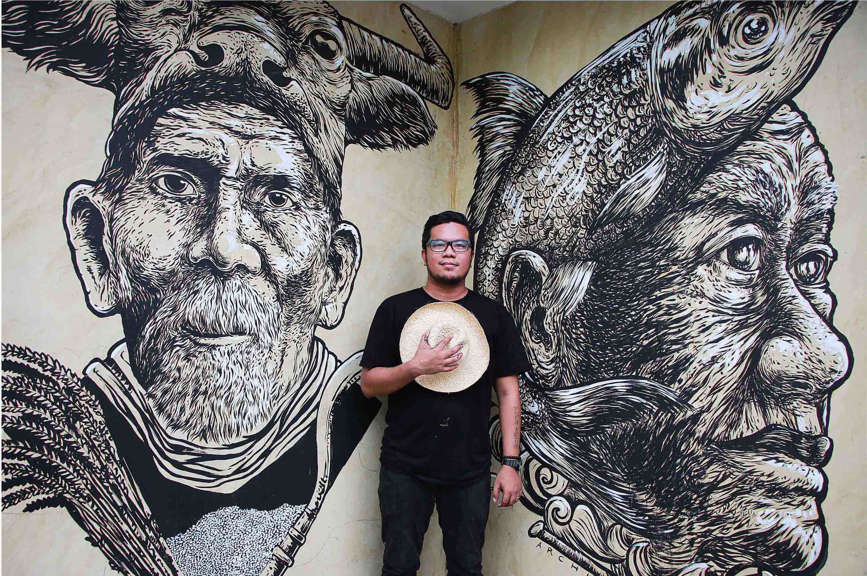 Archie Oclos Social Awareness Through Street Art And The Beauty And