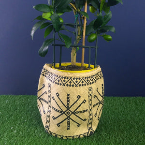 Buri Leaf Basket: Medium
