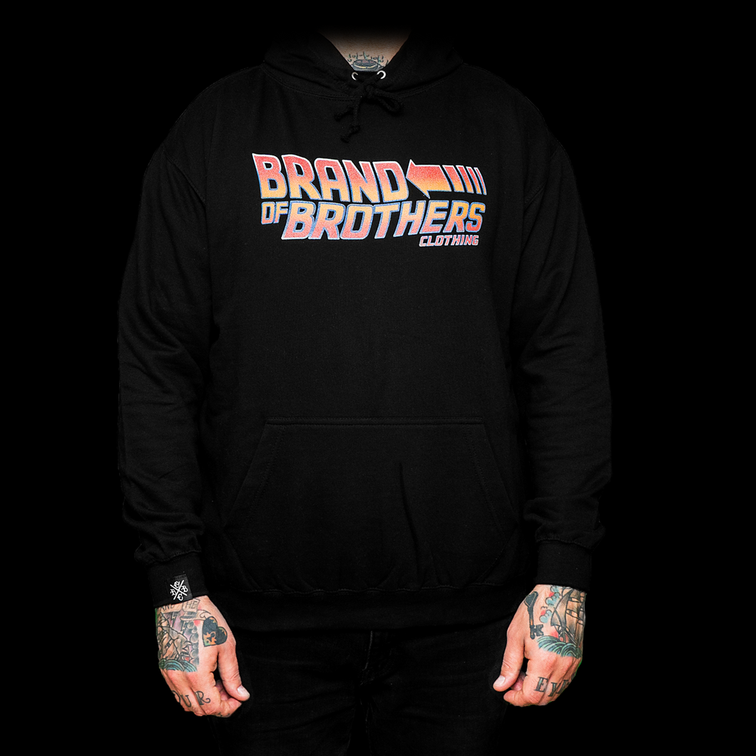 Back to the Brothers (black hoodie)