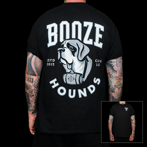 Booze Hounds (black)
