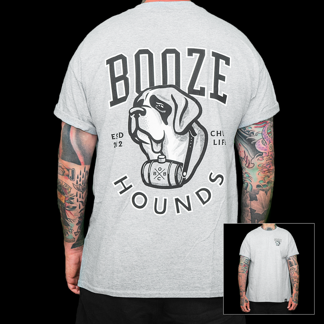 Booze Hounds (grey)