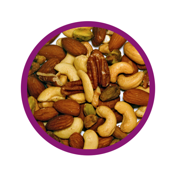 Premium Mixed Nuts - Roasted and Unsalted