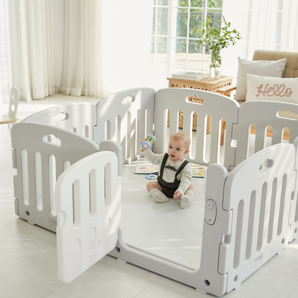 crawling baby play mat and playpen