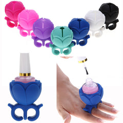 Hot and New Nail Art Finger Holder