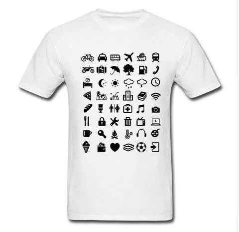 New Travel Icon Summer T Shirt