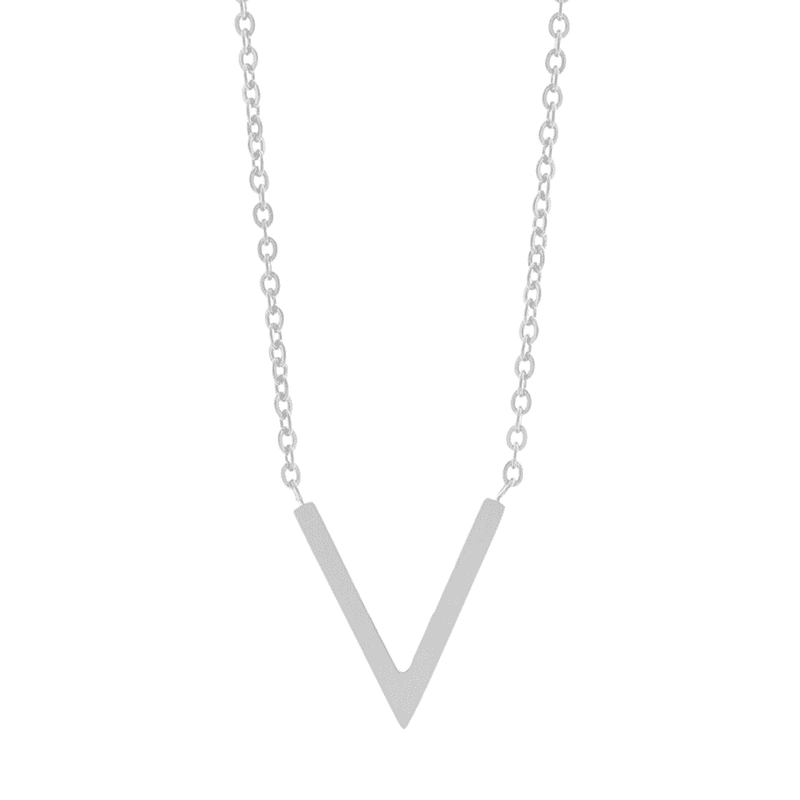 Little V Necklace - Brother & Sisters